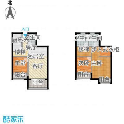中惠卡丽兰82.52㎡B2绿钻(春绿)扩面户型3室3卫1厨