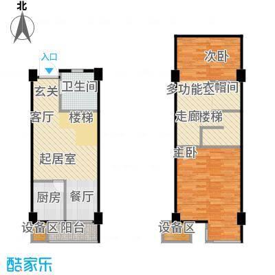 立方寓立方寓户型图B户型-2室2厅1卫1厨38(25/28张)户型10室