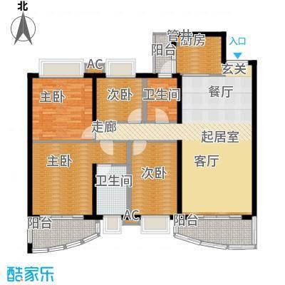 东逸翠苑户型图(5/16张)
