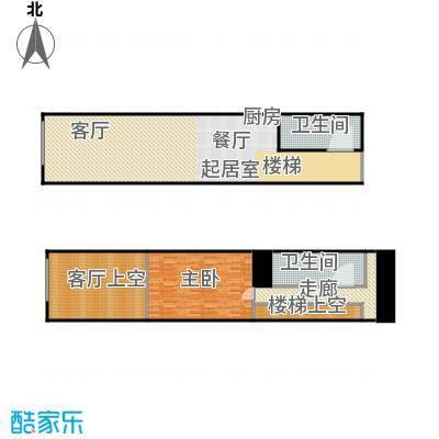 万锦逸城loft公寓户型