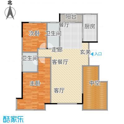 万科魅力之城三期万科魅力之城三期2室2厅2卫户型2室2厅2卫