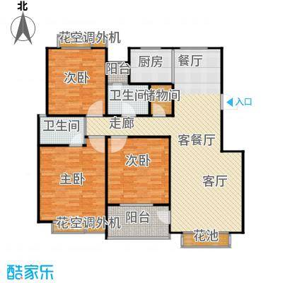 群星苑135.00㎡群星苑户型图135平米三居室(2/3张)户型3室2厅2卫