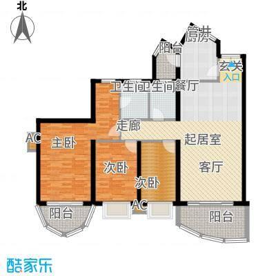 东逸翠苑户型图(11/16张)