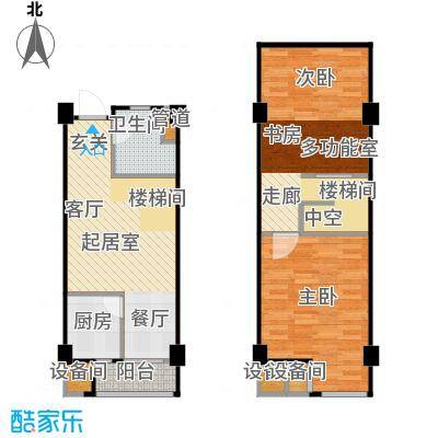 立方寓立方寓户型图B户型(1/7张)户型10室