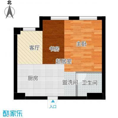 城市金领37.00㎡城市金领户型图B户型图(5/5张)户型10室