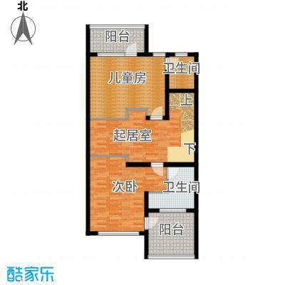 君海96.21㎡A户型10室