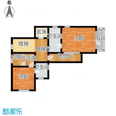 君海91.28㎡C户型10室