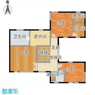 观唐云鼎C1二层户型3室3卫