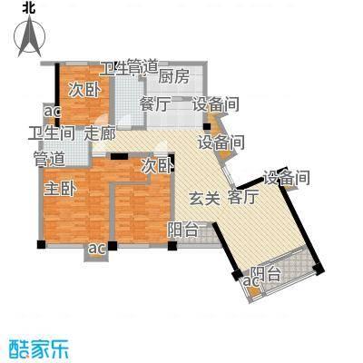 水木清华水木清华户型图高层C5户型(9/10张)户型10室