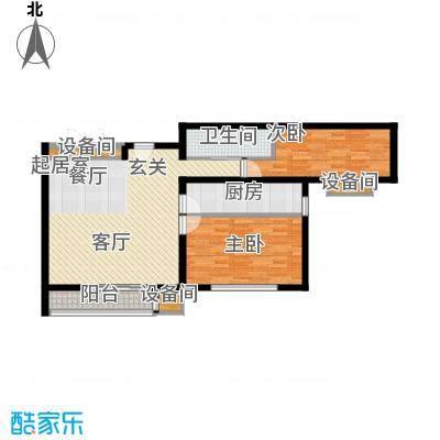 马驹桥保障性住房项目85.22㎡马驹桥保障性住房项目限价商品房D2 85.22㎡户型