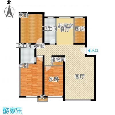 新街坊139.30㎡新街坊户型图(5/9张)户型10室