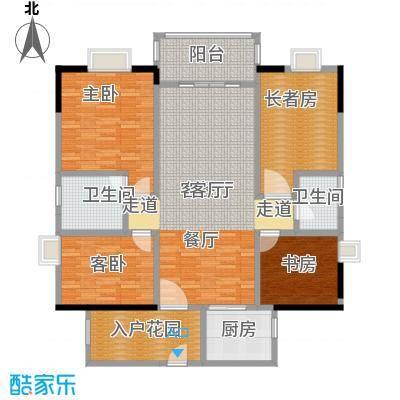 盛和新都会1栋标准层01户型3室1厅2卫1厨