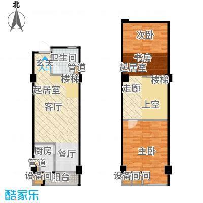 立方寓立方寓户型图E-a(7/7张)户型10室