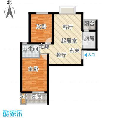 龙泽国际86.66㎡龙泽国际QQ