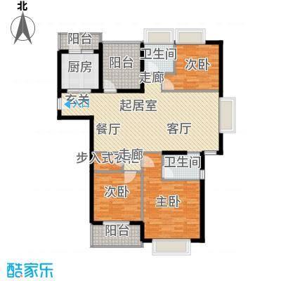 MAX未来136.80㎡K1户型3室2厅2卫QQ