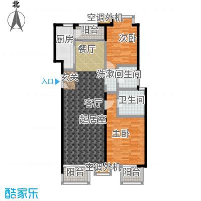 玺萌公馆117.77㎡玺萌公馆户型图A01两室两厅两卫二至五层(4/18张)户型10室