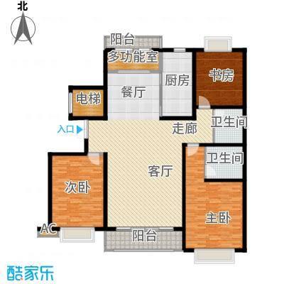 水岸世纪水岸世纪户型图三室二厅二卫(1/1张)户型10室