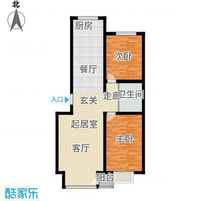 万锦花语岸102.00㎡万锦花语岸户型图(14/18张)户型10室
