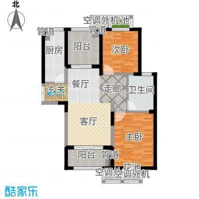 置地青湖语城86.50㎡置地青湖语城户型图C户型(3/4张)户型10室