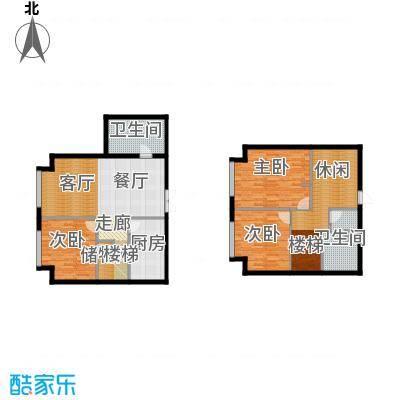 星海大观182.00㎡3室3厅2卫面积约182平米户型