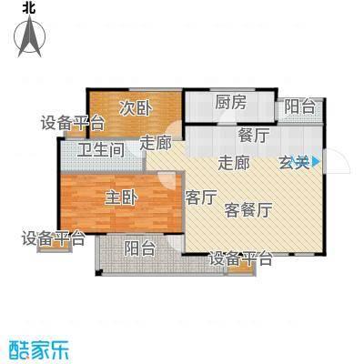 天慈良园天慈良园户型图二房-85.52㎡(3/5张)户型10室