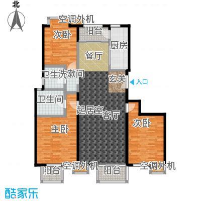 玺萌公馆146.44㎡玺萌公馆户型图13号楼A02户型三室两厅两卫(1/32张)户型3室2厅2卫