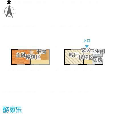 广天国际公寓E户型