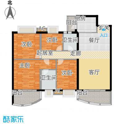 东逸翠苑户型图(13/16张)