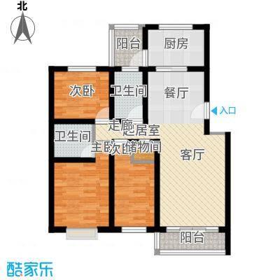 百万小镇百万小镇3室2厅2卫户型3室2厅2卫