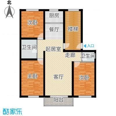 意达花园120.00㎡意达花园120.00㎡3室2厅1卫户型3室2厅1卫