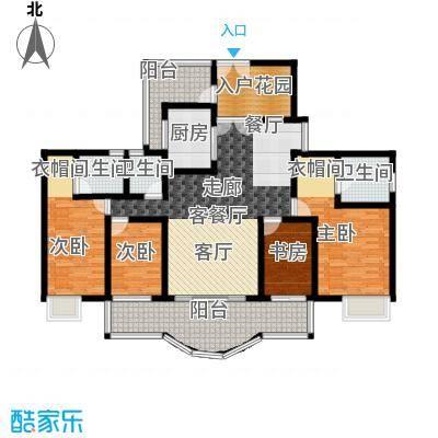 亿泉尚园户型4室1厅3卫1厨