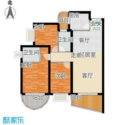 东逸翠苑户型图(12/16张)
