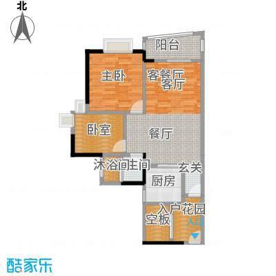盛和新都会2栋标准层03、04户型1室1厅1卫1厨