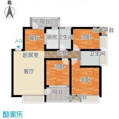 曲江紫汀苑2-F户型图户型