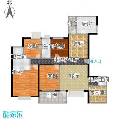 丹梓龙庭C/D栋奇数层三位户型4室1厅3卫1厨