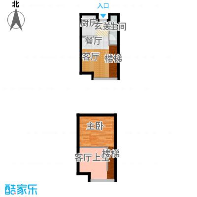 BOBO悠乐城29.38㎡公寓A户型