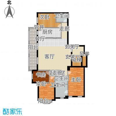 190平四房两厅三卫