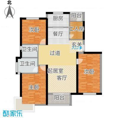 中国铁建绿港132.57㎡G户型10室