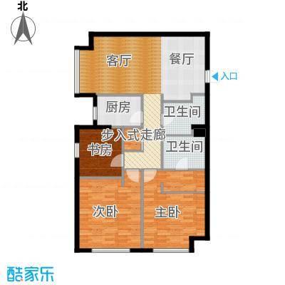 星海大观152.00㎡3室2厅2卫面积约152平米户型