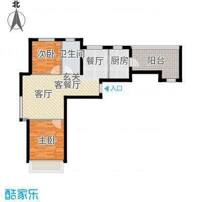 尚海华庭67.94㎡户型10室