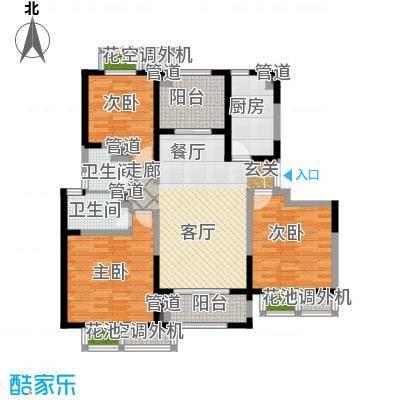 置地青湖语城118.80㎡置地青湖语城户型图D户型(2/2张)户型10室