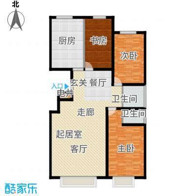 银座嘉园158.00㎡银座嘉园158.00㎡3室2厅2卫户型3室2厅2卫