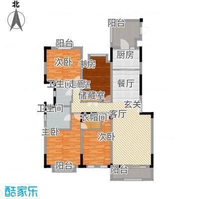 金地天悦湾169.00㎡23栋 室内装修建议图户型4室2厅2卫