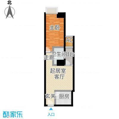 正尚国际公寓64.79㎡正尚国际公寓户型图A2户型(2/3张)户型10室