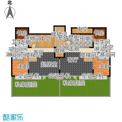 华发新城小高层住宅下跃底层户型