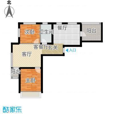 尚海华庭80.20㎡户型10室