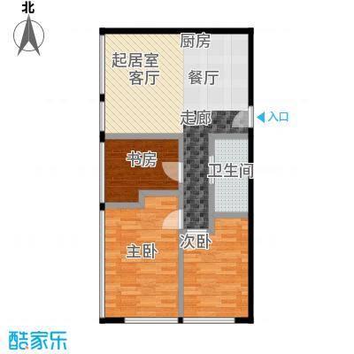 滨海国泰大厦滨海CBD-mini家三室二厅户型3室2厅