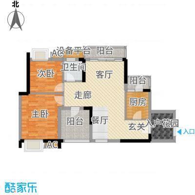 金凤豪苑89.00㎡