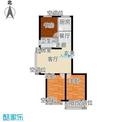 恒益翠芳庭恒益翠芳庭户型图H型单元户型图(3/3张)户型10室