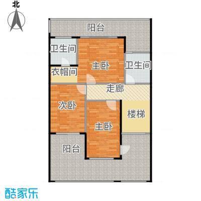 莲湖四季豪园109.97㎡户型3室2卫